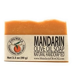Mandarin Olive Oil Mosturizing Soap